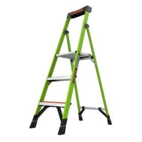 Little Giant MightyLite Fiberglass Platform Ladder M5