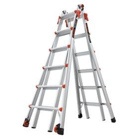 Little Giant Ladder Velocity Model 26 Multi-Use Ladder Type 1A