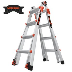 Little Giant LT M17 Ladder with Storage Rack