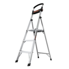 Little Giant Xtra-Lite Plus, 5' Lightweight Step Ladder with Handle