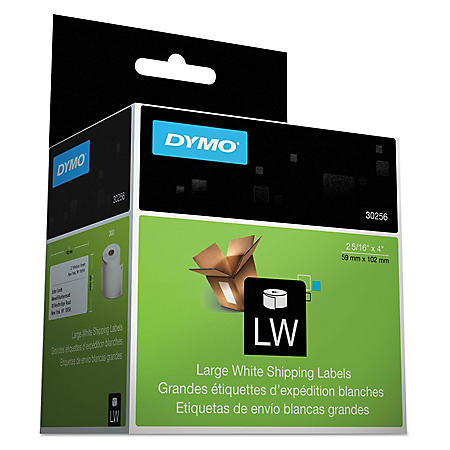 DYMO LabelWriter - 30256 Shipping Labels, White - 300 Labels