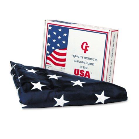 Advantus All-Weather Outdoor U.S. Flag, 5 ft. x 8 ft.