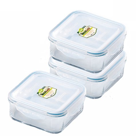 GlassLock Food Storage Container Set - 6 pc.