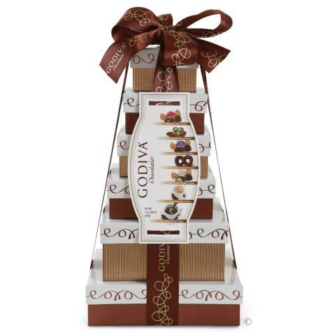 Godiva Chocolate Tower