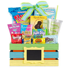 Wine Country Blue Easter Basket
