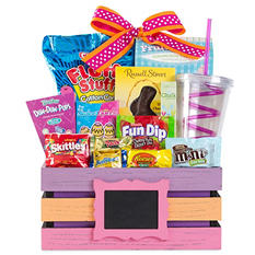 Wine Country Pink Easter Basket