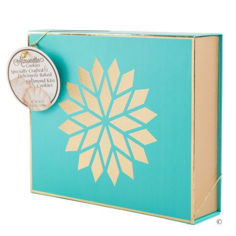 Almonette Cookie Box (Teal)