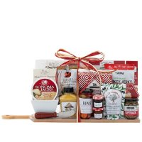 Holiday Charcuterie Gift Set with 15 Gourmet Foods