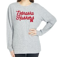 Ladies' NCAA Pullover Long Sleeve Sweaterknit Top Nebraska Cornhuskers