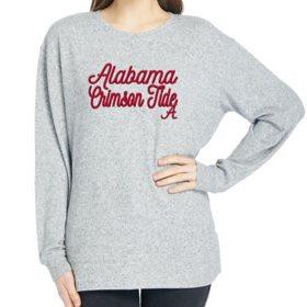 Ladies' NCAA Pullover Long Sleeve Sweaterknit Top Alabama Crimson Tide