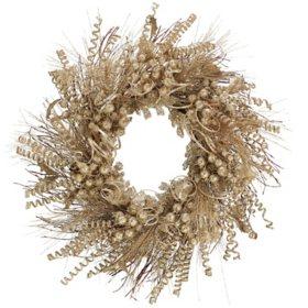 "28"" Champagne Wreath"