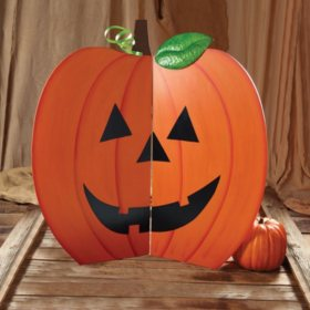 Jack O' Lantern Wooden Decor
