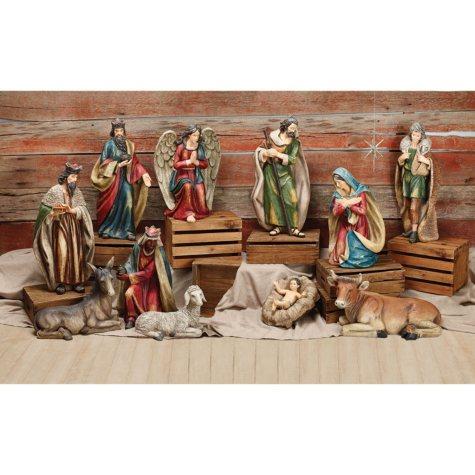 Extra Large 11-Piece Nativity Set