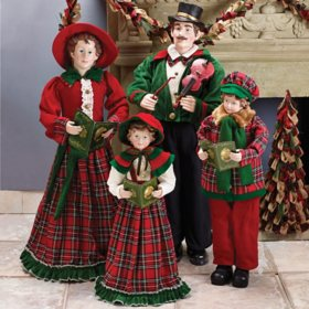 Caroling Family Figurines