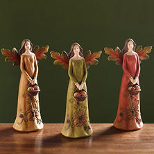 Autumnal Angels- Set of 3