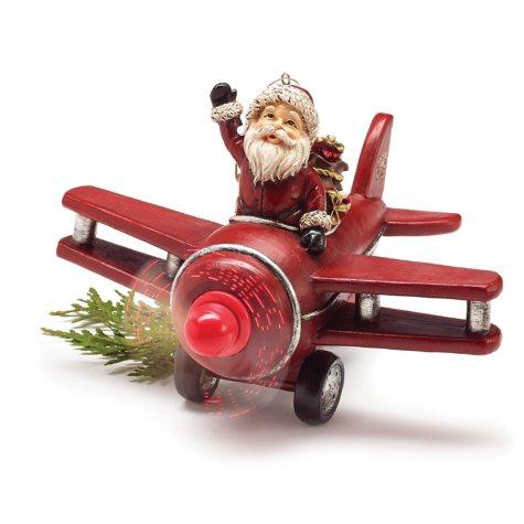 Airplane Santa