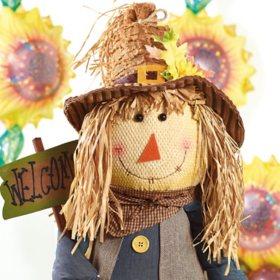 "56"" Sitting Scarecrow"