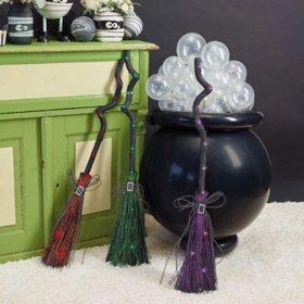 Animated Broom, Set of 3