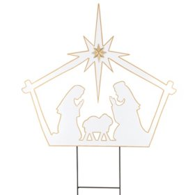 Nativity Yard Stake