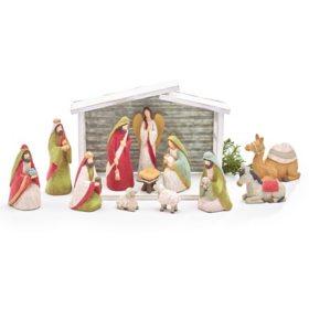 All Ye Faithful Nativity Set
