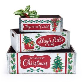 Holiday Boxes (Set of 3)