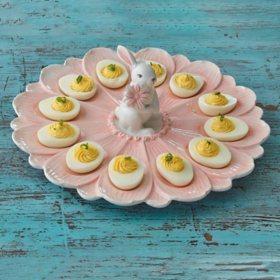 2-Piece Dozen Egg Plate