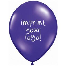 "11"" Latex: Custom Imprint Balloon - Special - 100 ct."
