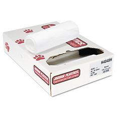 Jaguar Plastics - Heavy Grade Can Liners, 45gal, 13mic, 40 x 48, Natural -  200/Carton
