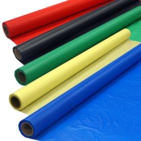 """Plastic Banquet Rolls - 40"""" x 100' - 4 pk. - Various Colors"""