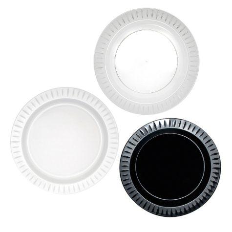 "Party Essentials Elegance Plastic Plates, 7.5"", Select Color (288 ct.)"