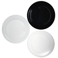 "Party Essentials Deluxe Plastic Plates, 9"", Select Color (168 ct.)"