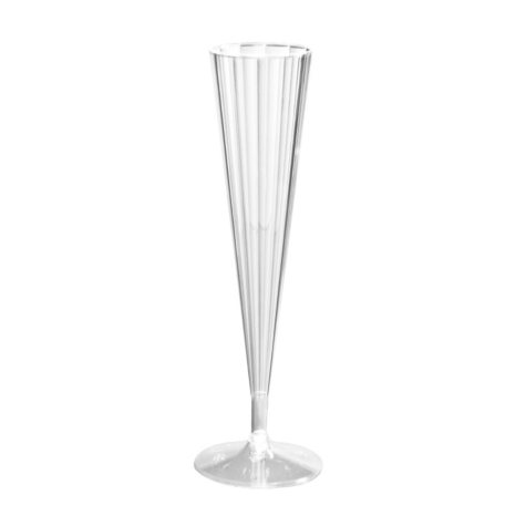 Party Essentials Plastic Champagne Flutes, 5 oz. (120 ct.)