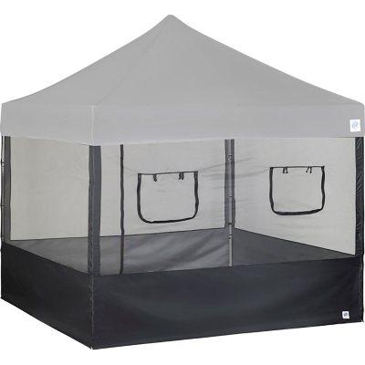 E-Z UP Food Booth Wall Set with Truss Clips 10u0027 x 10u0027 (  sc 1 st  Samu0027s Club & Canopies u0026 Carport Tents - Samu0027s Club