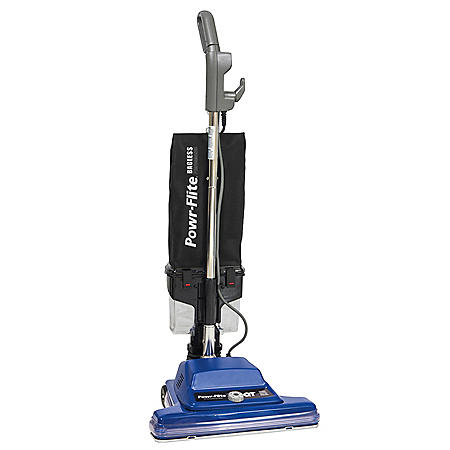 """Powr-Flite 16"""" Commercial Bagless, Wide Track Upright Vacuum"""