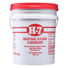 H-7 Industrial Cleaner & Degreaser (5 gal.)