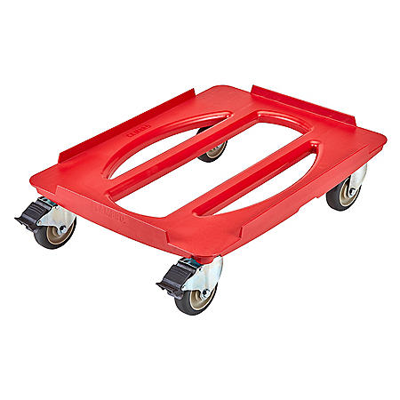 Cambro Camdolly For EPP Front and Top Loaders, Red
