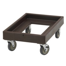 Cambro Camdolly CD300131 Insulated Transport, Dark Brown
