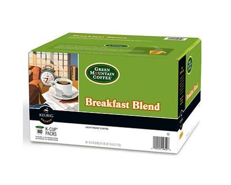 Green Mountain Coffee, Breakfast Blend (80 K-Cups)