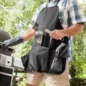 Grilling Master Apron and Tools