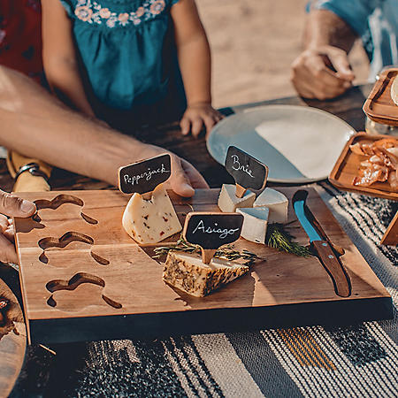 Cheese Serving Board and Marker Set