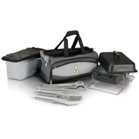 Collegiate Buccaneer Portable Charcoal BBQ & Cooler Tote (Various Teams)