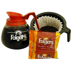Folgers Classic Roast Coffee, Portion Pack (0.9 oz., 42 ct.)