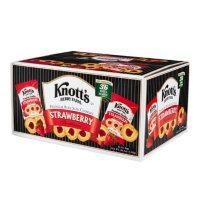 Knott's Berry Farm Strawberry Shortbread Cookies (2oz / 36pk)
