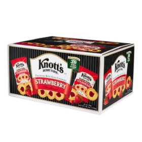 Knott's Berry Farm Strawberry Shortbread Cookies (2 oz., 36 pk.)