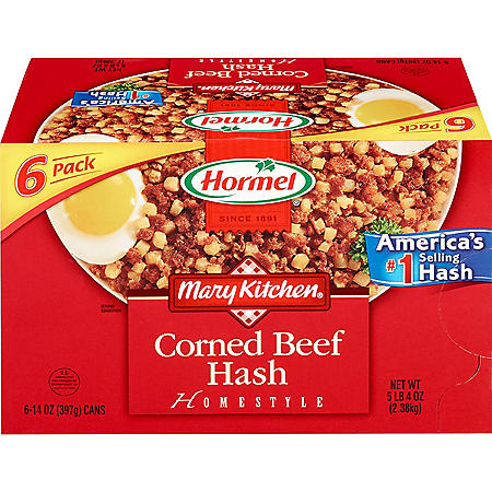 Hormel Mary Kitchen Homestyle Corned Beef Hash (14 oz., 6 pk.)