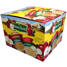 Whitehouse Applesauce Variety Pack - 4 oz. cups - 36 ct.