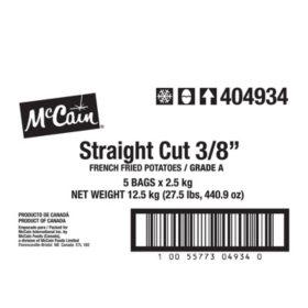 McCain Straight Cut Fries (5ct/5.5lbs)
