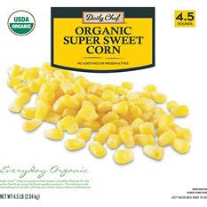 Daily Chef Organic Super Sweet Cut Corn (4.5 lb.)