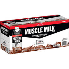 Muscle Milk Chocolate Non-Dairy Protein Shake (11 fl. oz., 12 pk.)