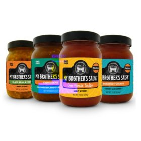 My Brother's Salsa Variety - Hot, Medium and Mild (12 pk.)